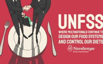 UNFSS – Where Multinationals Continue to Design our Food Systems and Control our Diets