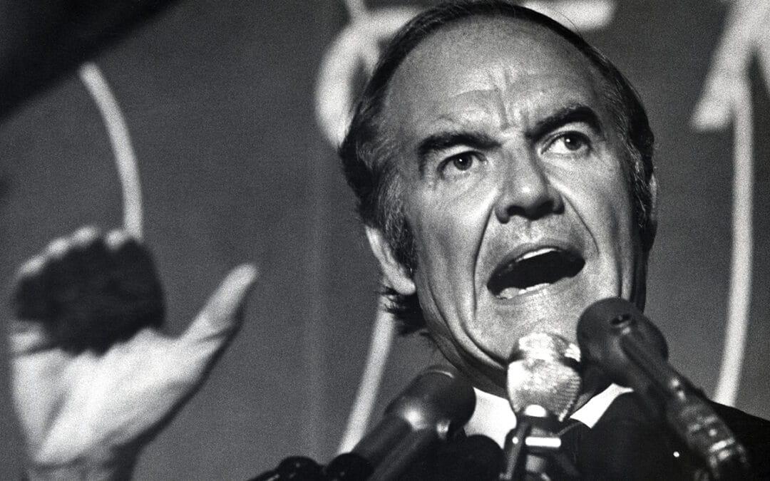 George McGovern–The Last Democrat