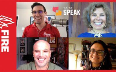 Responding to On the Media on Free Speech: FIRE's So to Speak Podcast